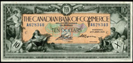 Canadian Bank of Commerce $10.00