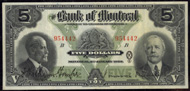Bank of Montreal $5.00