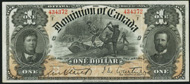 Dominion of Canada 1898 $1.00