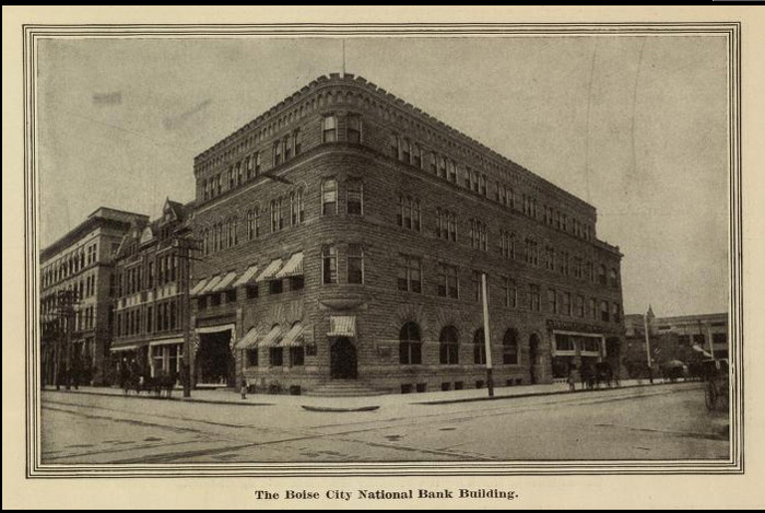 Image of the Boise City National Bank, Boise City