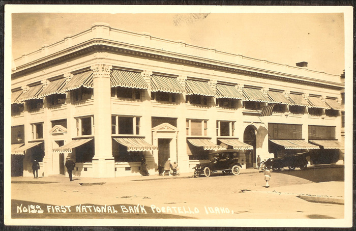 Image of the First National Bank of Pocatello