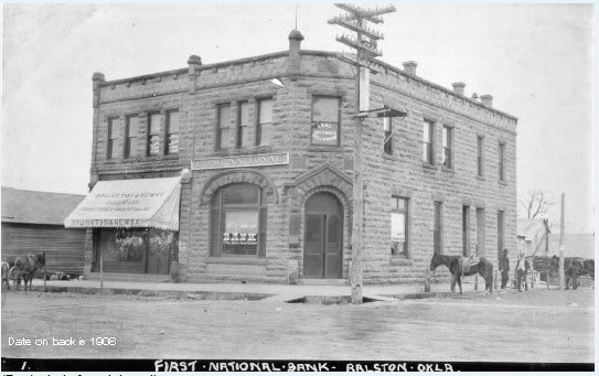 Image of the First National Bank of Ralston
