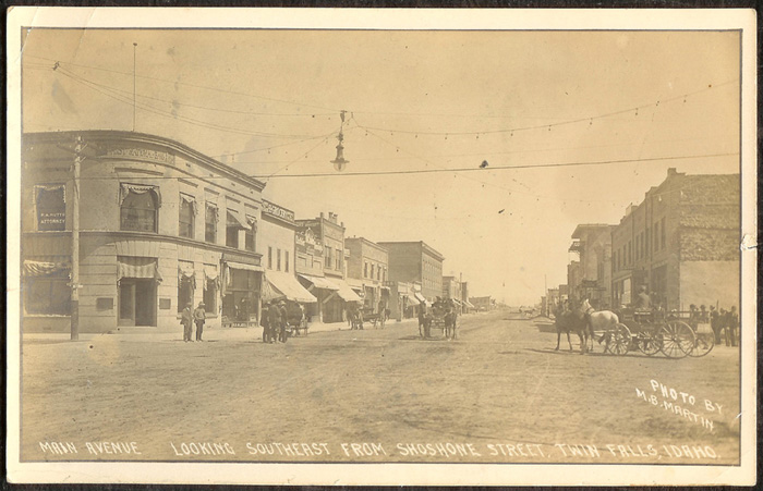 Image of the First National Bank of Twin Falls