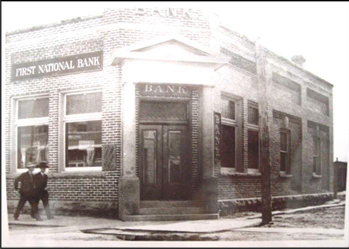 Image of the First National Bank of Salmon