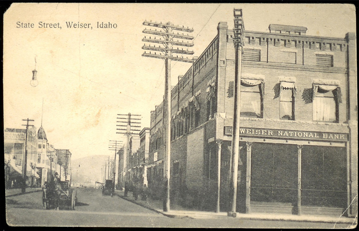 Image of the Weiser National Bank, Weiser