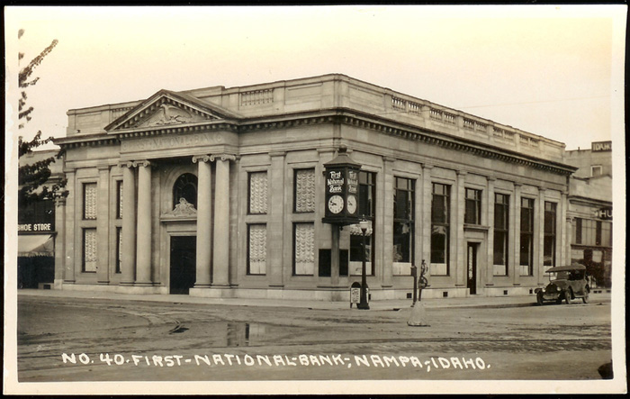 Image Of The First National Bank Nampa