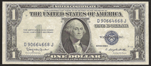 Old Money - 1935 Silver Certificate