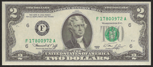 Old Money - 1976 $2.00 Legal Tender