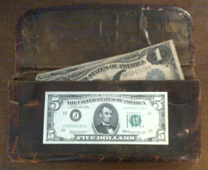 Large Sized Currency Billfold