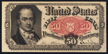 1876 Fifth Issue 50 cent Fractional Currency
