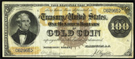Gold Certificate Series 1882 $500.00
