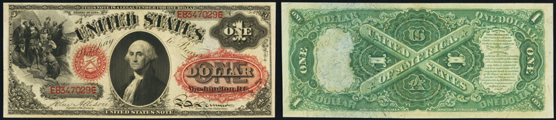 Series 1874 $1 Legal Tender