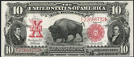 Legal Tender Series 1901 $10.00 Bison