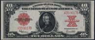 Legal Tender Series 1923 $10.00 Pokerchip