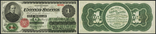1862 One Dollar Bill Legal Tender Note