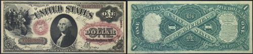 1875 One Dollar Bill Legal Tender Note