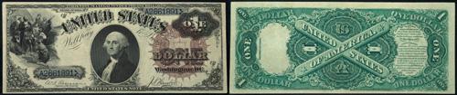 1880 One Dollar Bill Legal Tender Note
