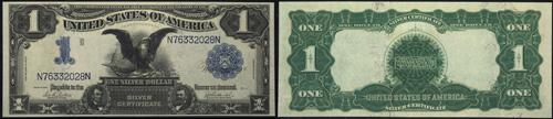 1899 One Dollar Bill Silver Certificate Note