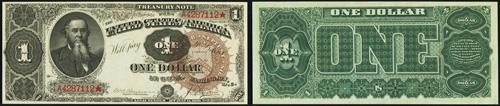 1890 One Dollar Bill Treasury Note