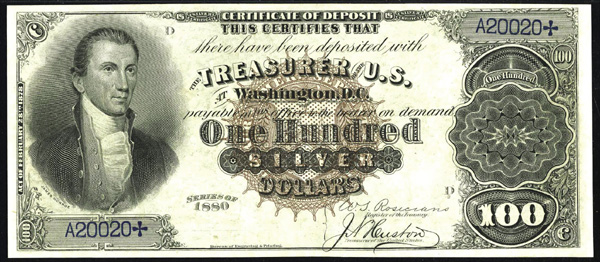 Silver Certificate Value | Silver Certificates 1878 - 1923