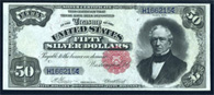 Silver Certificate Series 1891 $50.00