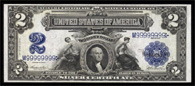 Silver Certificate Series 1899 $2.00 Agricultural