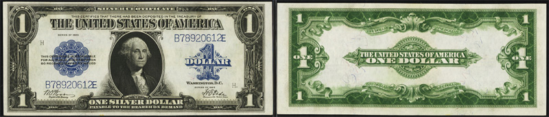 Buying, Selling and collecting Series 1923 Silver Certificates.