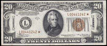 Series 1928 $1.00 Legal Tender Star Note