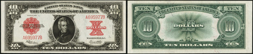 1923 Ten Dollar Bill Legal Tender