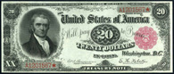 Treasury Note Series 1890 $20.00