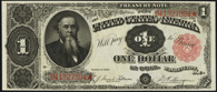 Treasury Note Series 1891 $1.00