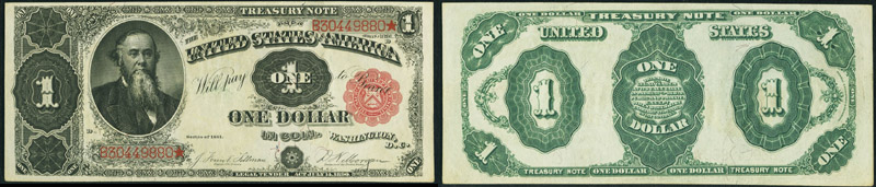 Series 1891 $1.00 Treasury Note