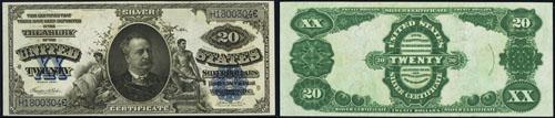 1891 Silver Certificate Note